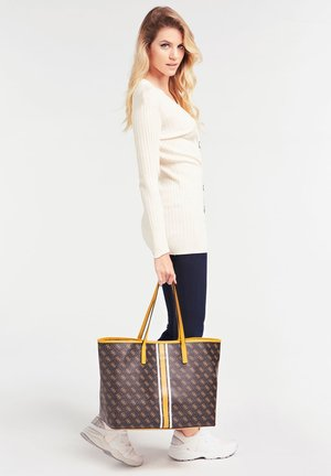 VIKKY - Shopping Bag - braun