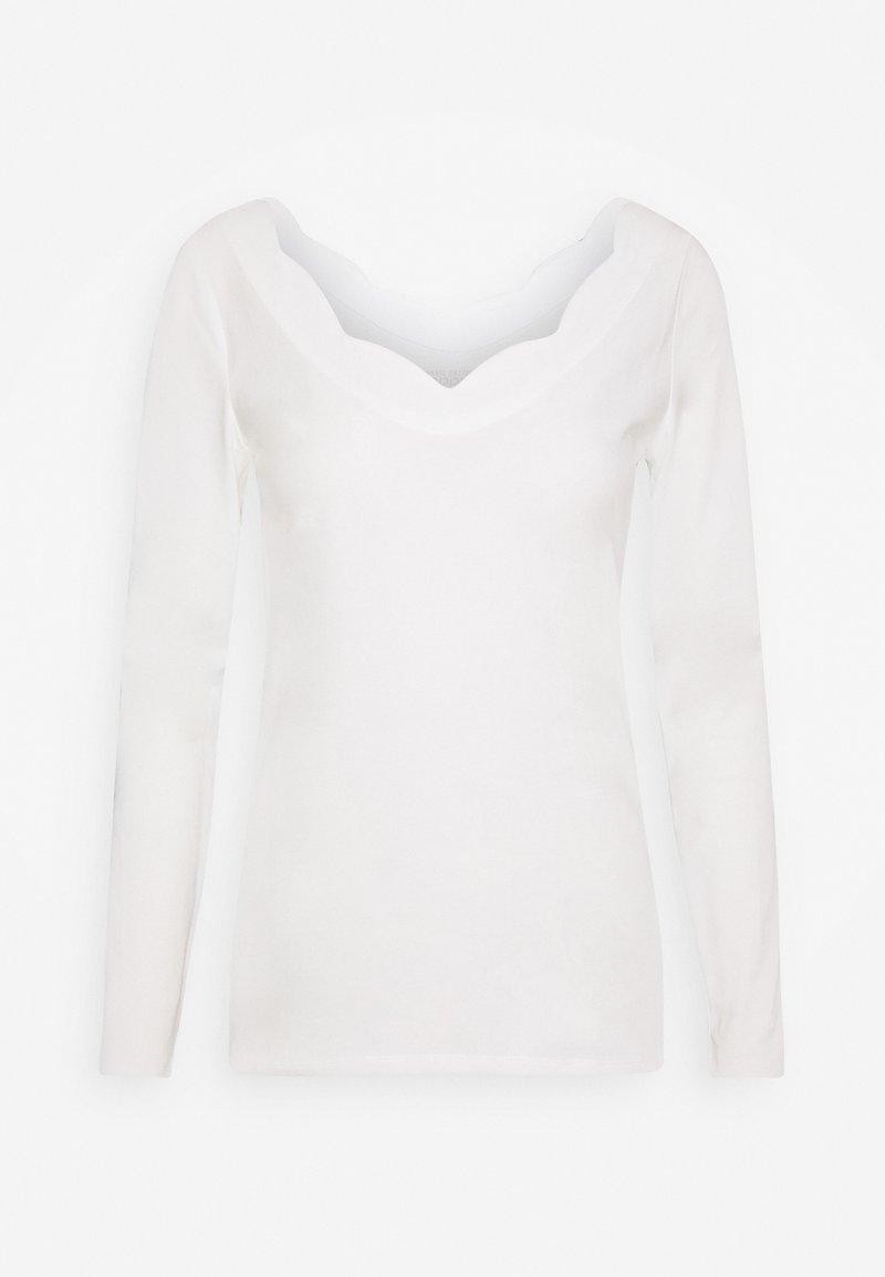 Esprit - CORE  - Top sdlouhým rukávem - off white