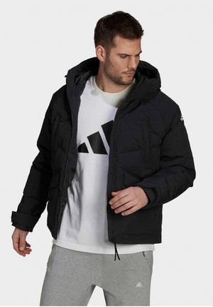 BIG BAFFLE - Down jacket - black