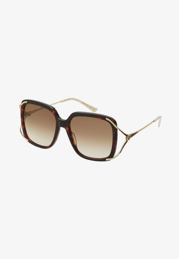 Gafas de sol - havana/gold-coloured/brown