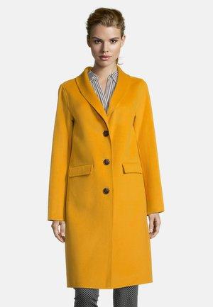 Classic coat - golden glow