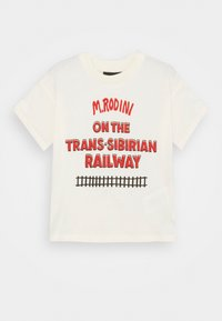 Mini Rodini - TRANSSIBERIAN TEE - Print T-shirt - offwhite - 0