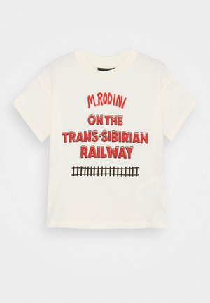 TRANSSIBERIAN TEE - Print T-shirt - offwhite