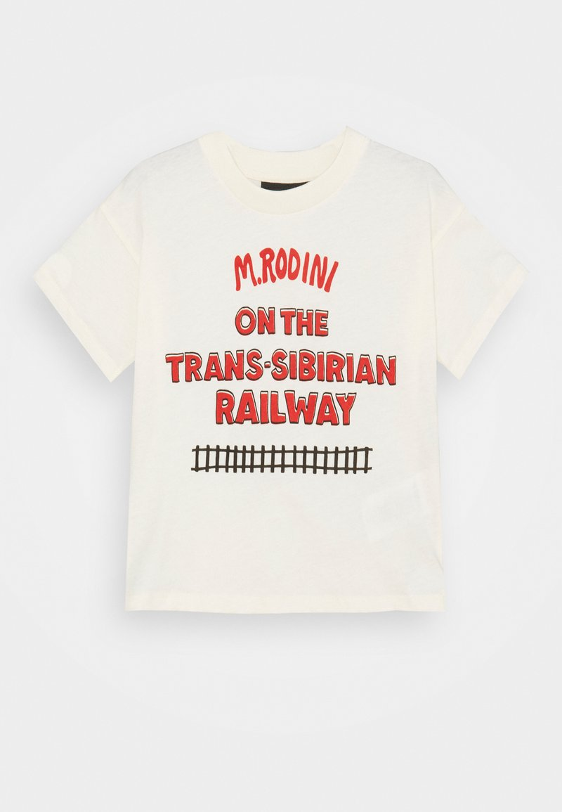 Mini Rodini - TRANSSIBERIAN TEE - Print T-shirt - offwhite