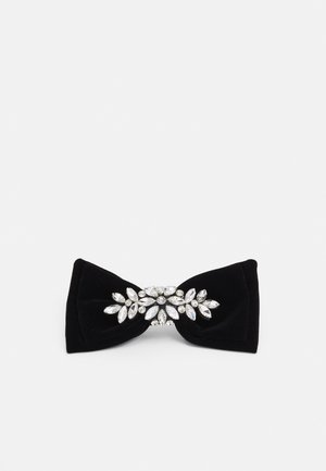 PCKRITI BOW HAIR CLIP - Hair styling accessory - black