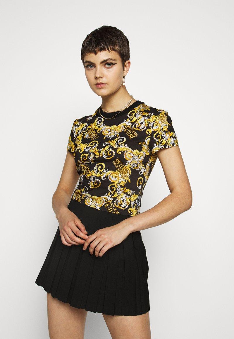 Versace Jeans Couture - T-shirt z nadrukiem - nero