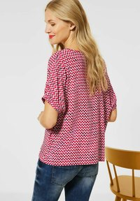 Street One - Blouse - rot - 2