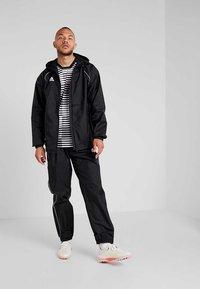 adidas Performance - CORE 18 RAIN PANT - Bukse - black/white - 1