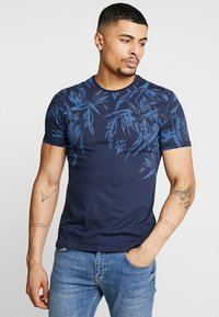 Pier One - T-shirts print - blue - 0