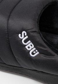 SUBU - Dřeváky - black - 5
