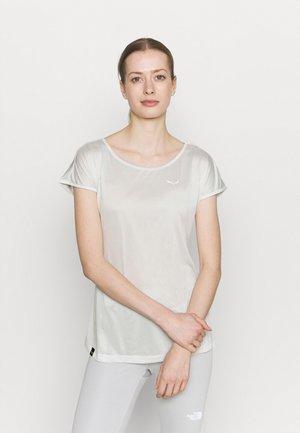 PUEZ DRY TEE - T-shirt basic - white melange