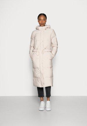 Down coat - cream beige