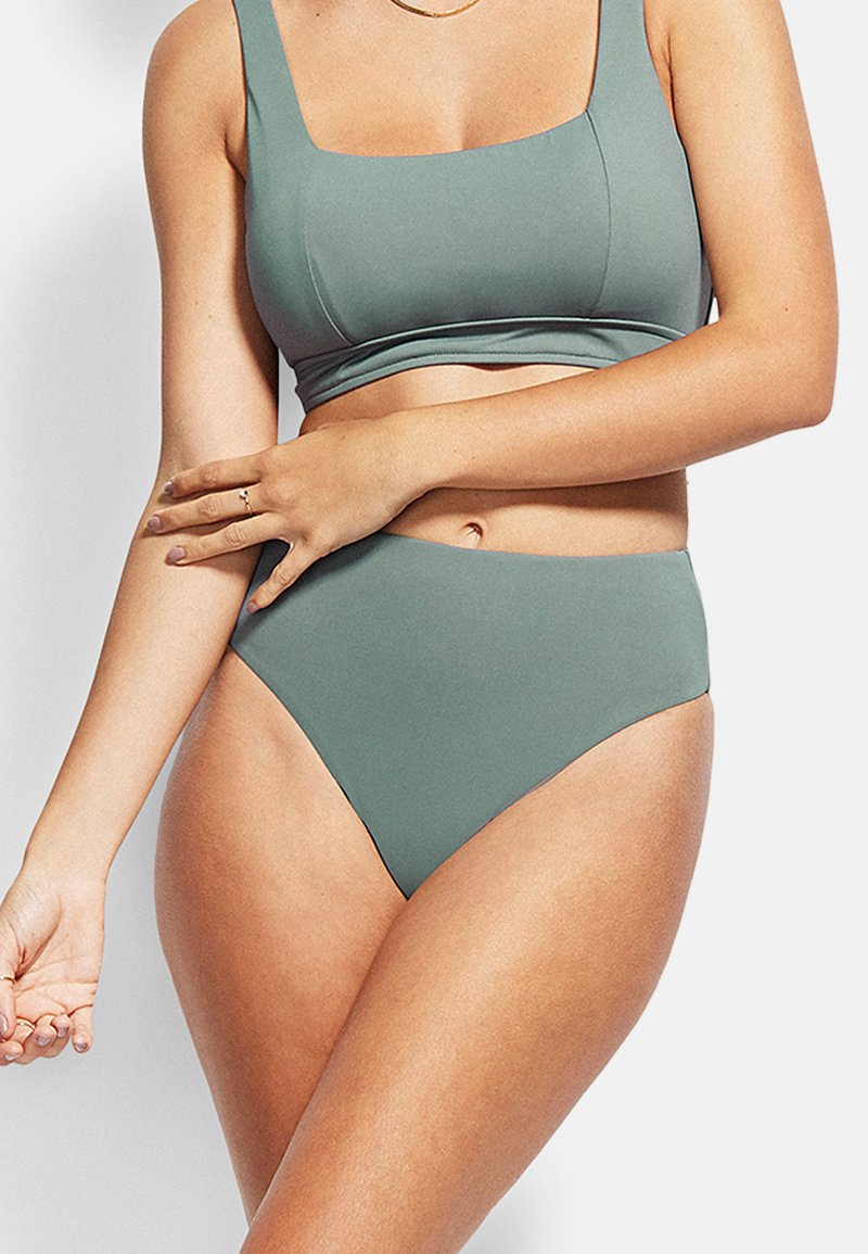 Seafolly - ACTIVE - Bikini bottoms - olive leaf
