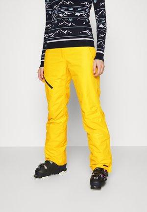 CURLEW - Ski- & snowboardbukser - yellow
