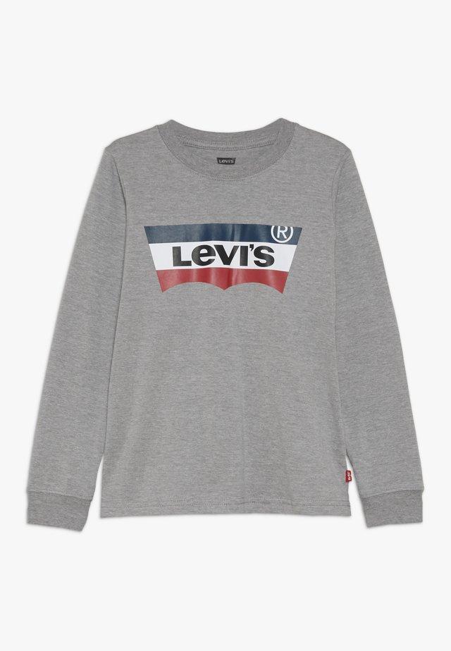BATWING TEE - Bluzka z długim rękawem - grey heather