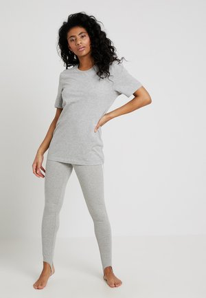STATEMENT 1981 CREW NECK 2 PACK - Pyjama top - grey heather