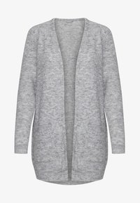 Fransa - FREMALLY - Cardigan - light grey melange - 5