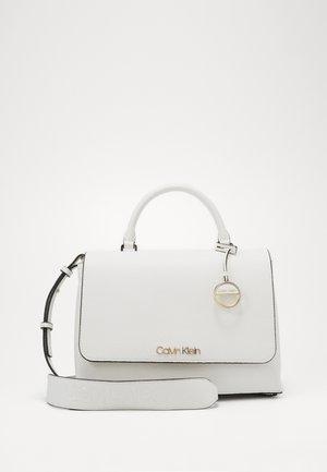 SIDED TOP HANDLE - Handbag - white