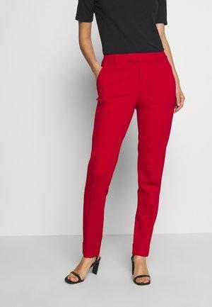 SMART CHINO - Kalhoty - dark red