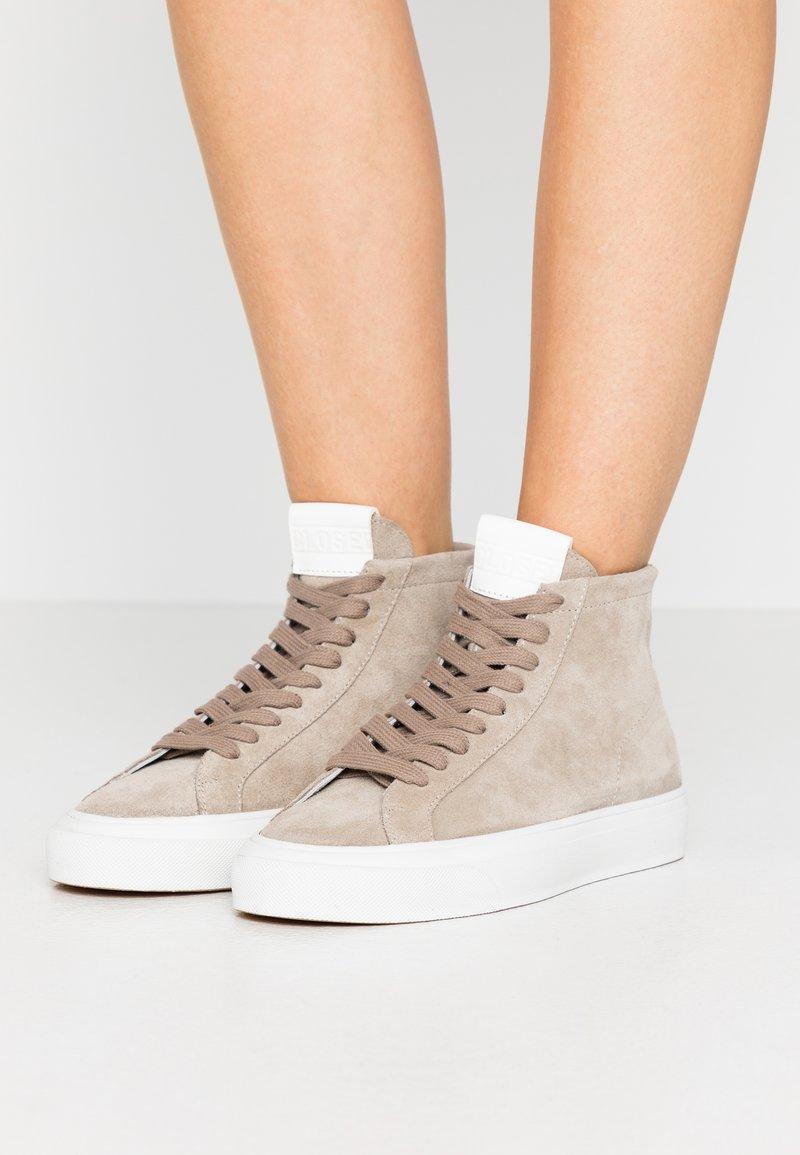 CLOSED - SANDY - Zapatillas altas - grey heather melange