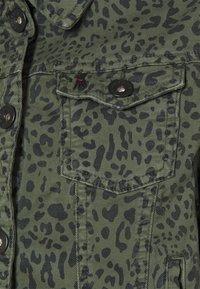 Frieda & Freddies - JACKET - Denim jacket - green - 2