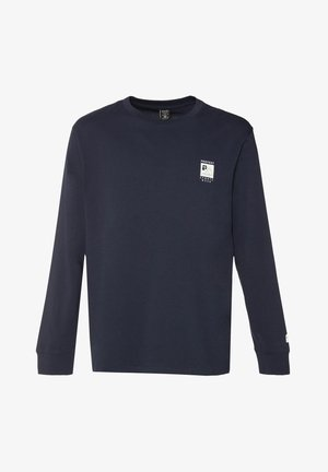 SHELBY - Long sleeved top - ground blue