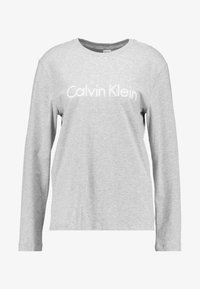 Calvin Klein Underwear - CREW NECK - Pyjama top - grey