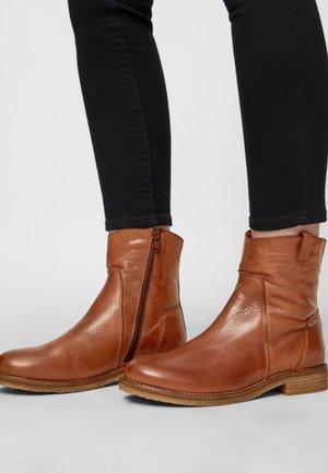 ATALIA - Classic ankle boots - cognac