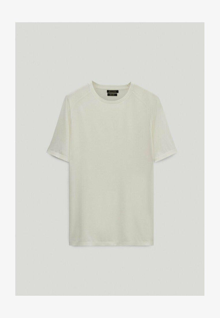 Massimo Dutti - LIMITED EDITION  - Basic T-shirt - white