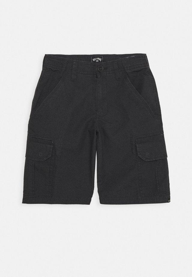 SCHEME BOY - Pantaloni cargo - charcoal