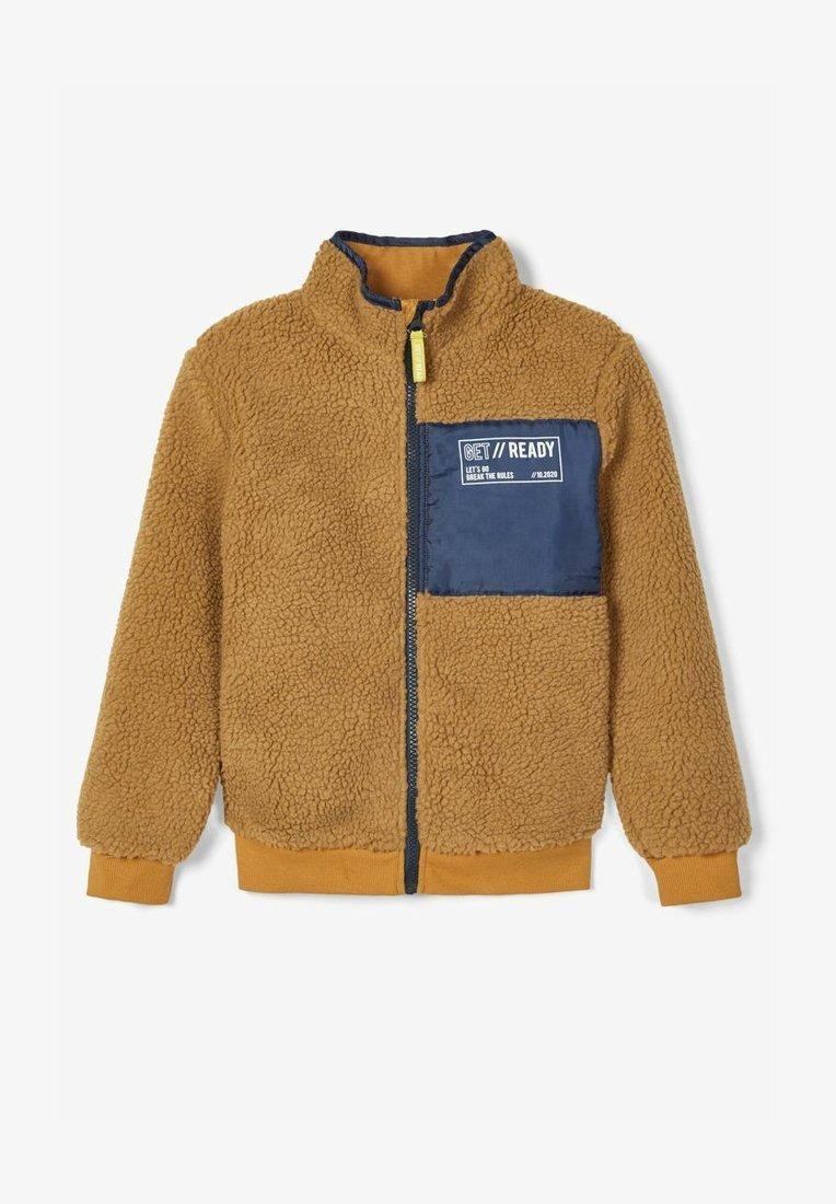 Name it - TEDDY - Fleece jacket - medal bronze