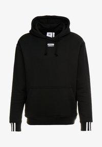 adidas Originals - HOODY - Bluza z kapturem - black - 4