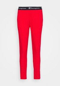Champion - SLIM PANTS - Teplákové kalhoty - red - 0