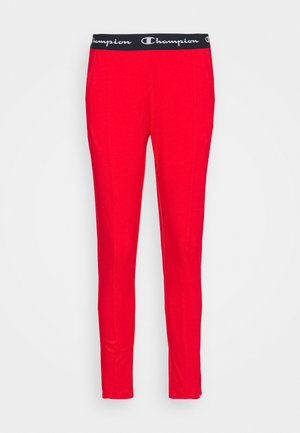 SLIM PANTS - Pantalones deportivos - red