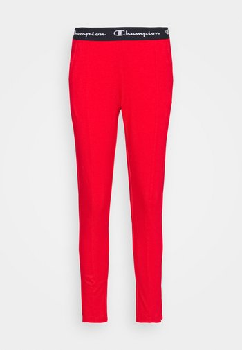 SLIM PANTS - Tracksuit bottoms - red