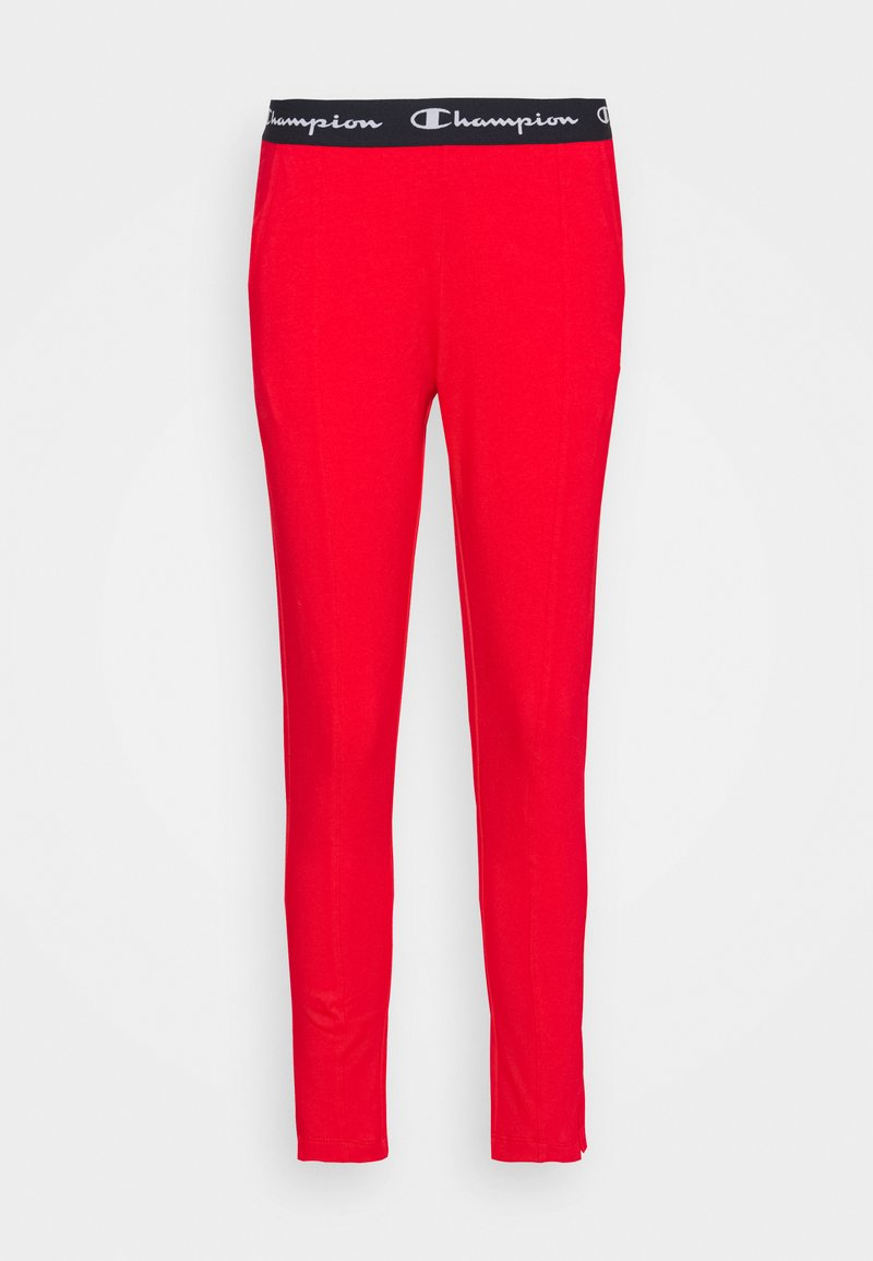 Champion - SLIM PANTS - Teplákové kalhoty - red