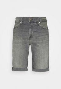SLIM SHORT - Denim shorts - denim grey