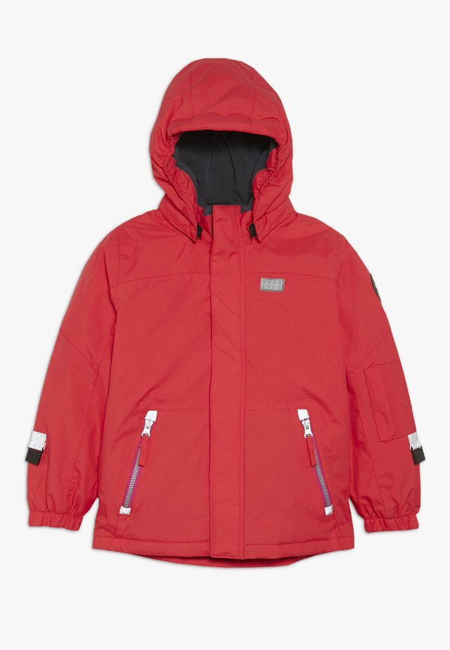 JOSEFINE JACKET - Ski jacket - red