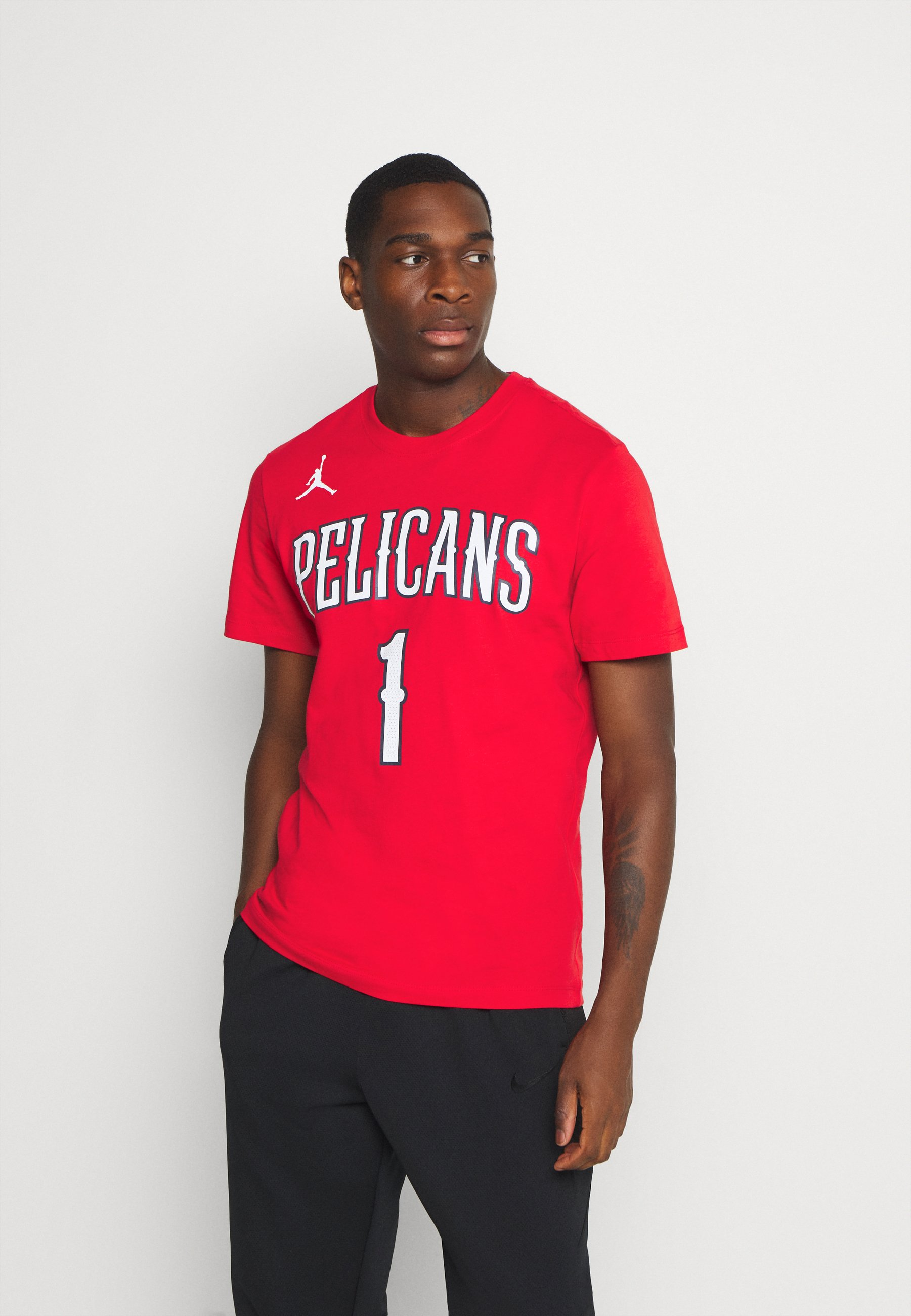 Men NBA NEW ORLEANS PELICANS ZION WILIAMSON NAME & NUMBER TEE - Print T-shirt