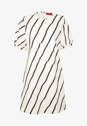 CELESTE - Day dress - white/black