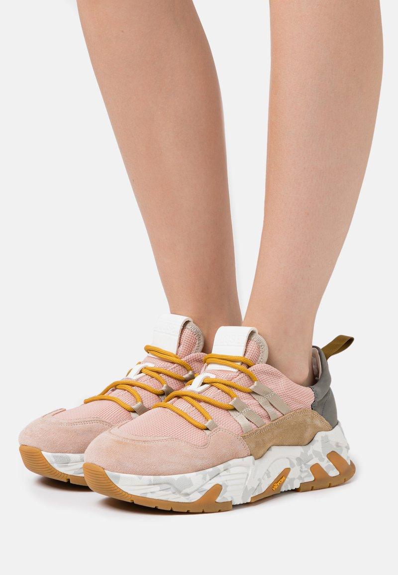 CLOSED - SPUNKY - Sneakersy niskie - amaranth red