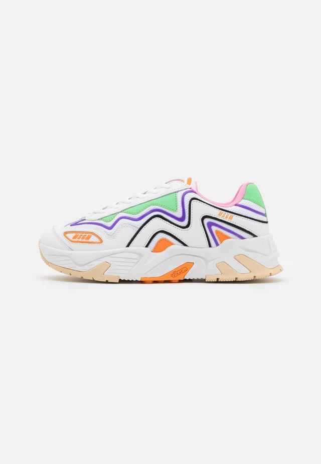 VORTEX  - Sneakers laag - orange/multicolor