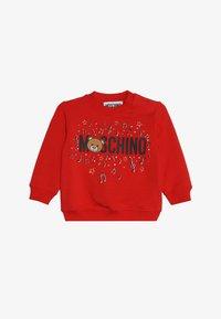 MOSCHINO - Sweatshirt - poppy red - 2