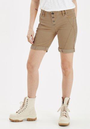 PZROSITA - Denim shorts - Tannin