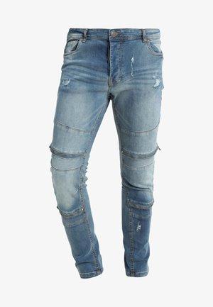 ELBA - Slim fit -farkut - blue