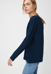 Marc O'Polo DENIM - LONG SLEEVE - Jumper - royal blue - 3