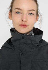 Burton - JET SET - Kurtka snowboardowa - true black heather - 4