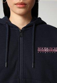 Napapijri - BILEA  - Zip-up sweatshirt - blu marine - 2