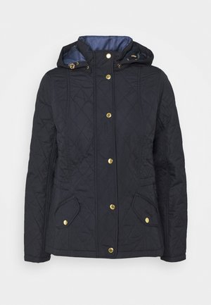 MILLFIRE QUILT - Light jacket - dark navy/oatmeal