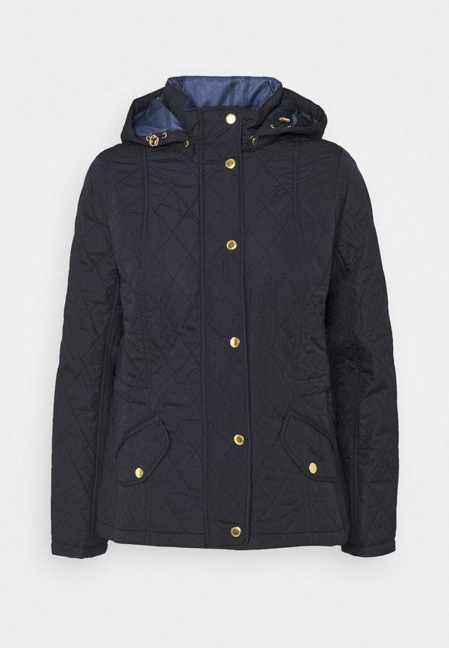 MILLFIRE QUILT - Light jacket - dark navy/oatmeal